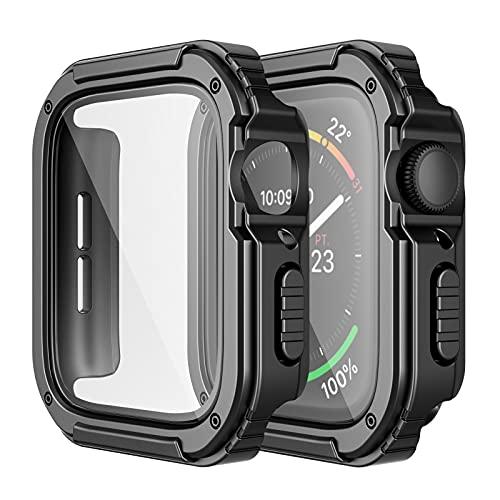 Paquete de 2 fundas resist. p/ Apple Watch Series Negro/42mm