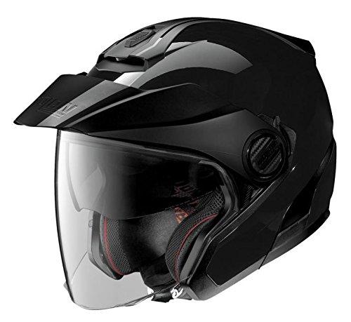 - Nolan N40-5 Motorcycle Helmet Black Large