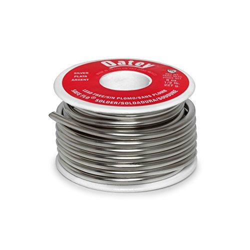 Oatey 29024 Safe Flo 0.117-Inch ga. Bulk, Silver, 1/2 lb. (Free Lead Silver Solder)