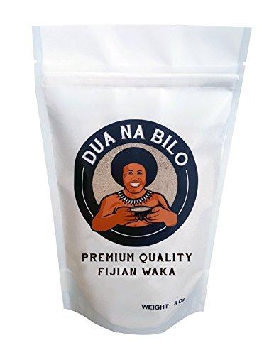 Dua Na Bilo Premium Fijian Waka Kava Root Powder 8 Oz