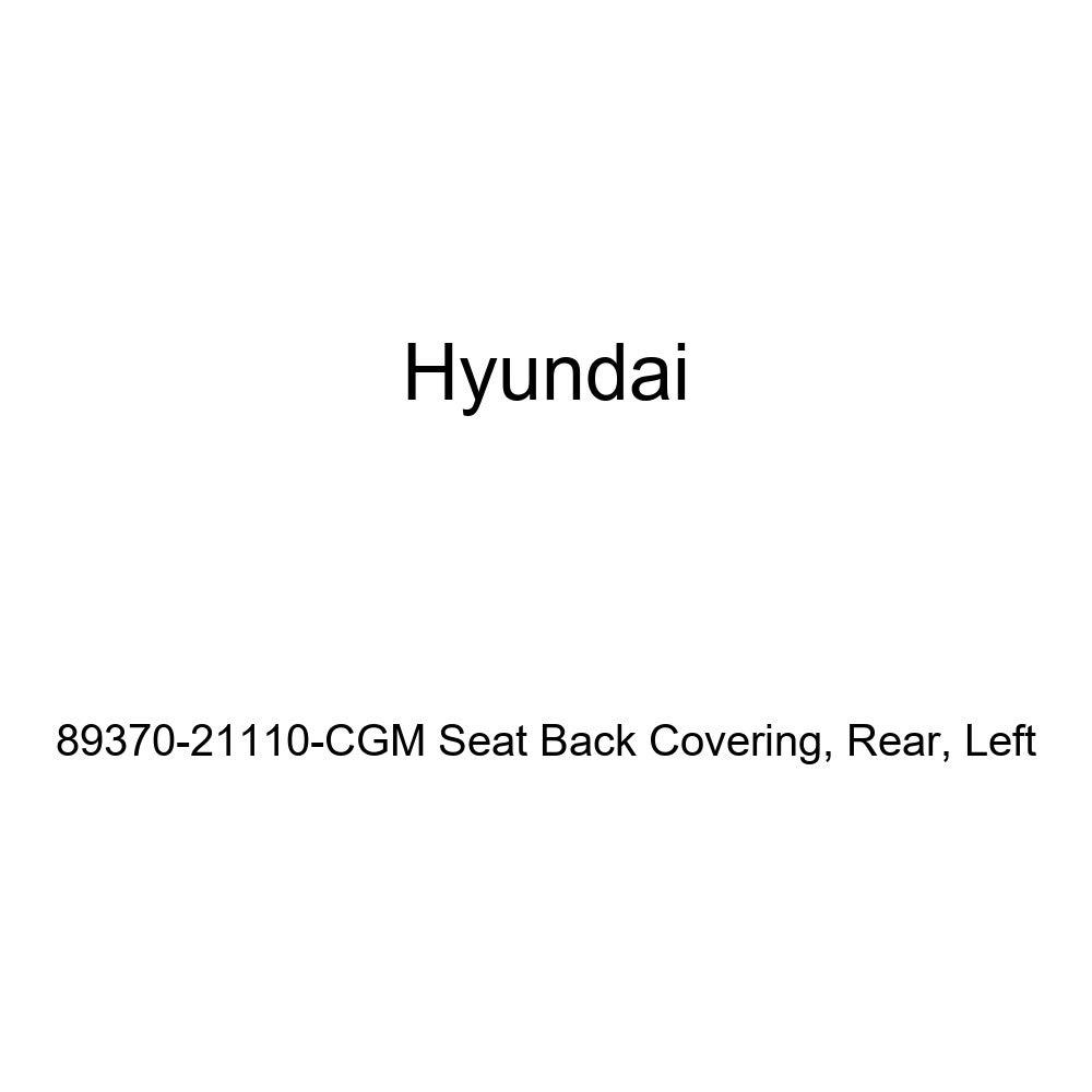 Rear Genuine Hyundai 89370-21110-CGM Seat Back Covering Left