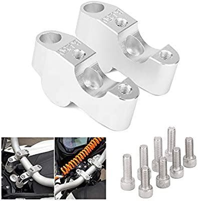 AnXin Handlebar Clamp Raised Extend Motorcycle Accessories CNC Handlebar Risers Adapter For Benelli BJ250 BJ 250 TNT125 135 TNT250 2015-2018