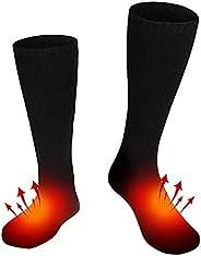 Electric Heated Socks Battery-Powered Feet Warmer Heater Winter Warm Socks Comfortable Thermo-Socks for Women