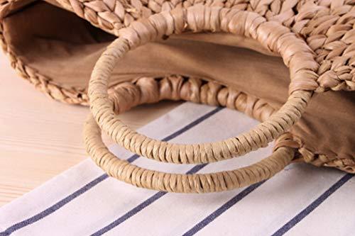 Sac de en Fluff couleur poil paille à crochet chameau main main Mori ZqwtaOx