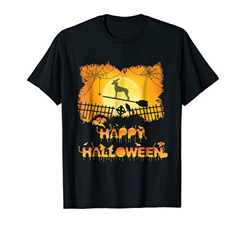 Great Dane Happy Halloween 2018 Dog Lovers T-Shirt