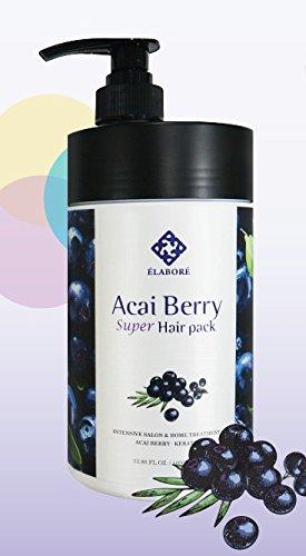 (Elabore Acai Berry Super Hair Pack 33.80fl.oz/ 1000ml)