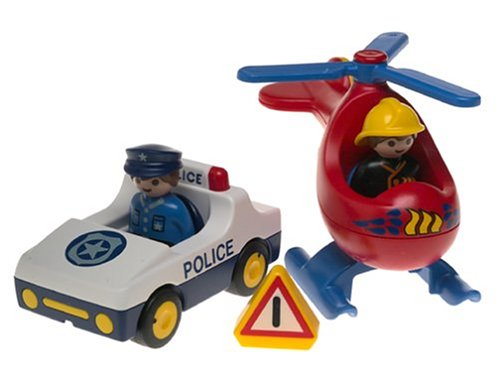 Playmobil 123 Rescue (Rescue Helicopter Playmobil)