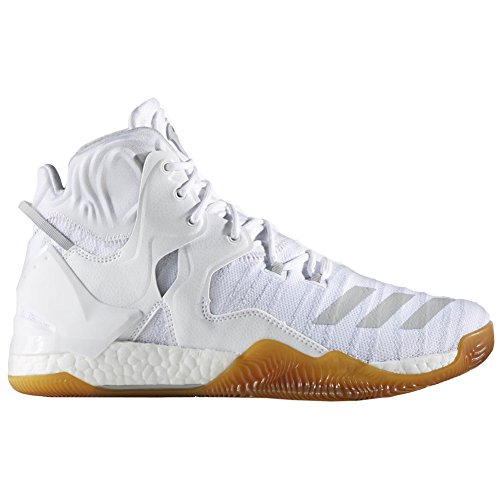 adidas D Rose 7 Primeknit Schuh Herren Basketball Weiß-Weiß-Karton