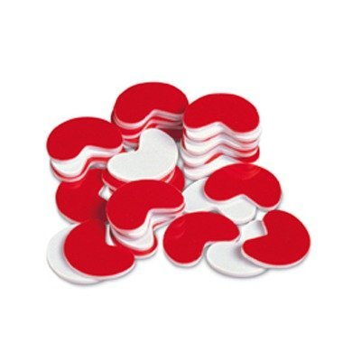 SCBLER0700-6 - BEAN COUNTERS 200-PK PLASTIC RED pack of 6 by Shoplet Best