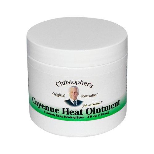 Formule du Dr Christopher Cayenne chaleur pommade, 4 Fluid Ounce