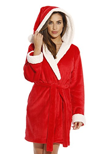 Just Love 6367-Santa-M Critter Robe/Robes for Women -