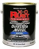 True Value XO18-GL XO-Gallon Satin Black Enamel
