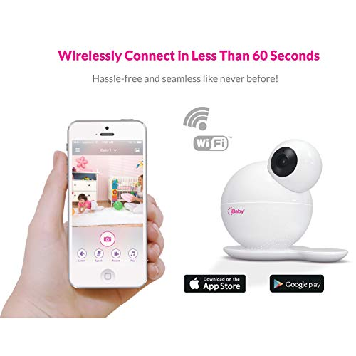 Ibaby Ibaby Wifi Baby Monitor M6 Hd Wireless Infant Video Camera