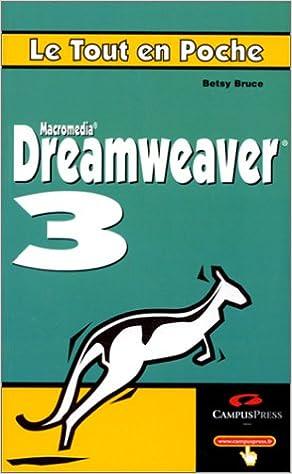 Livre gratuits en ligne Le Tout en poche. Dreamweaver 3 pdf, epub