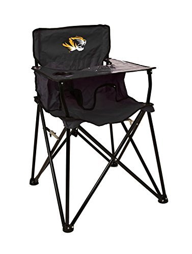 MISSOURI TIGERS NCAA ULTIMATE TRAVEL CHILD HIGH CHAIR by Rivalry Distributing by Rivalry Distributing
