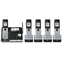 AT&T 5 Handset Answering System with Bluetooth Connect to Cell and Caller ID/Call Waiting - CLP99553
