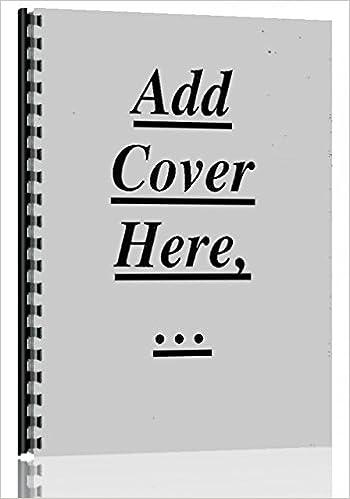 Dearborn All Disc Harrow Parts Manual Dearborn 6301147651228