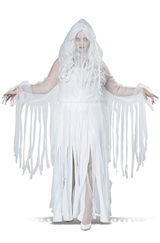 California Costumes Women's Plus Size Ghostly Spirit, White, 3X (Ghostly Costume)