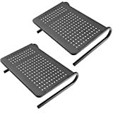 HUANUO Laptop Tray with Cushion, Built in Mouse Pad & Wrist Pad for Notebook, MacBook up to 17' with Tablet, Pen & Phone Holder