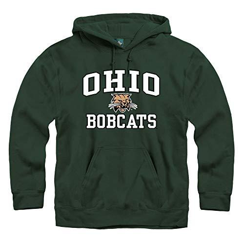 (Ivysport Ohio University Hooded Sweatshirt, Legacy, Hunter Green, Medium)