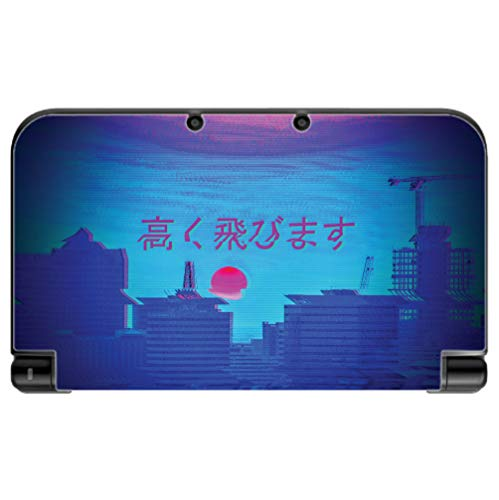Cheap  Vaporwave Japanese Sunset Design New 3DS XL 2015 Vinyl Decal Sticker Skin..