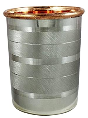 STREET CRAFT Handmade Drinkware Accessories Pure Copper & Stainless Steel Glass / Cup 9 Oz