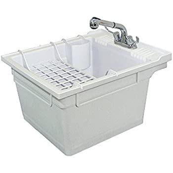 Samson SM 19 WC Wall Mounted Laundry Tub 22.375 IN W X