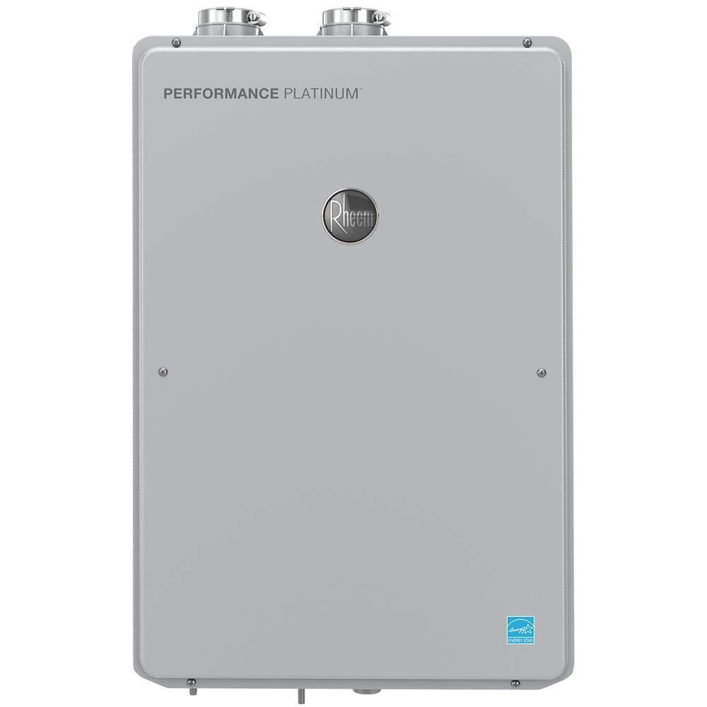 Rheem Performance Platinum 9.5 GPM Natural Gas High Efficiency Indoor Tankless Water Heater