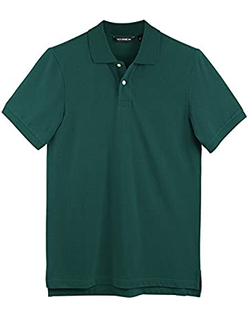 9713c570278 WANNEW Polo Shirts for Men - Mens Polo Shirt Cotton -Short Sleeve Polo  Regular-