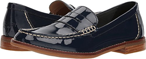 Pennies Sperry Blue (Sperry Top-Sider Seaport Patent Penny Loafer)