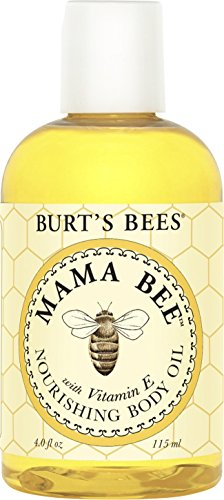 Burt's Bees 100% Natural Mama Bee Nourishing Body Oil, 4 Ounces