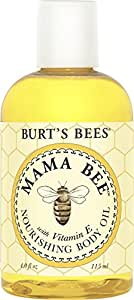 Burt's Bees Mama Bee Nourishing Oil With Vitamin E , 4-Ounce Bottle (Pack of 3)