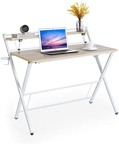 Folding Desk 40'' Modern Office Desk