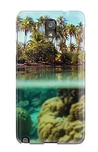 Galaxy Note 3 Hard Case With Fashion Design Bora Bora Phone Case
