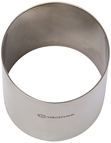 Cuisinox RNG-7075 Pastry Ring/Food Stacker, 70mm Diameter by 75mm Height, Stainless Steel by Cuisinox (Image #1)