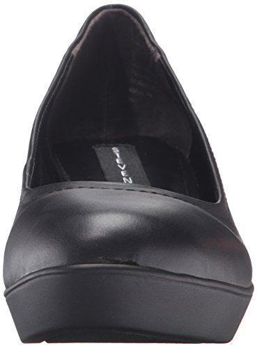Steve Madden Steven by Women's Fiori Wedge Shoe Black AxRvK