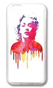 Apple Iphone 6 Case,WENJORS Adorable Marilyn I Soft Case Protective Shell Cell Phone Cover For Apple Iphone 6 (4.7 Inch) - TPU Transparent