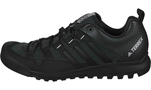 adidas Terrex Solo, Zapatillas de Deporte para Hombre Negro