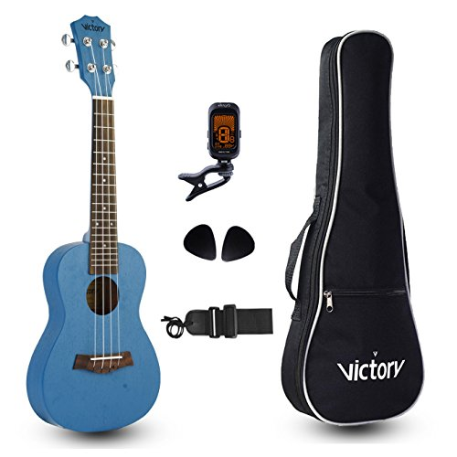 VIVICTORY Concert Ukulele Mahogany Strings Beginner product image