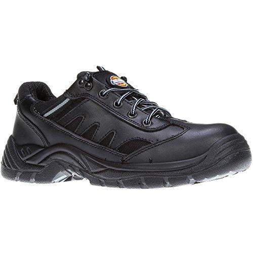 """Dickies FA13335 BK 5 Chaussures haute sécurité """"Stockton"""" S1-P Taille 38 Noir"""