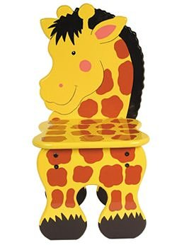 Wooden Giraffe Chair Amazoncouk Toys Games