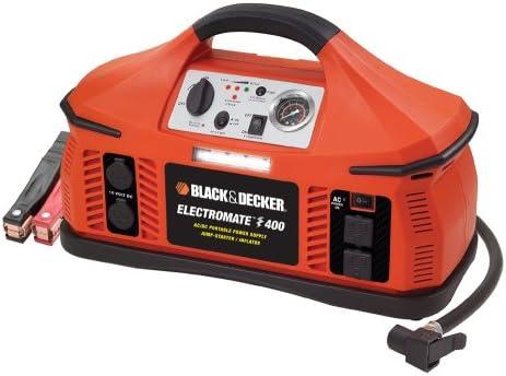 Amazon Com Black Decker Vec026bd Electromate 400 Jump Starter With