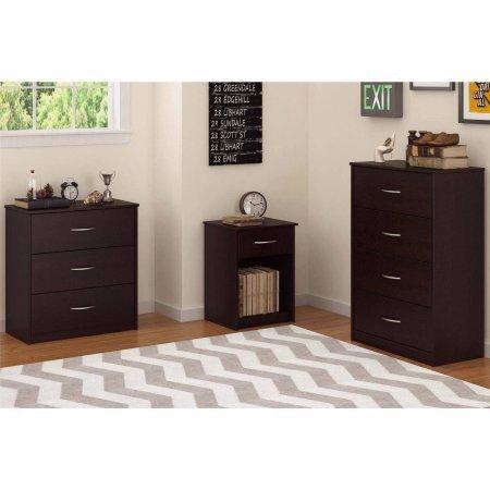 Mainstays 3-Drawer Dresser,Cinnamon Cherry by Mainstay (Image #3)