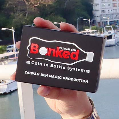 Murphy Banked - Black, Coke Zero (Gimmicks and Online Instructions) by Taiwan Ben ()