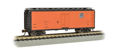 Bachmann Industries Wood Side Reefer Union/Soo Line N-Scale Freight Car, 40'