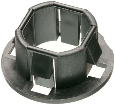 Arlington 4400 Plastic, 1/2-Inch Snap-In Bushings for Knockouts, 100-Pack (2 Snap In Bushing compare prices)