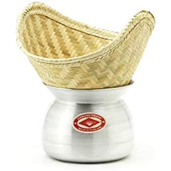 Amazon.com: 1 X Thai Sticky Rice Steamer Set: Aluminum
