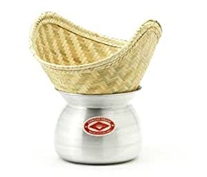 Thai Sticky rice steaming pot and basket: Amazon.com