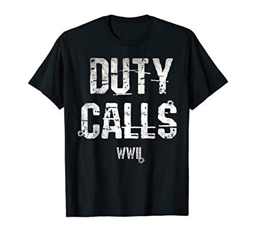 Duty Calls WW2 T Shirt