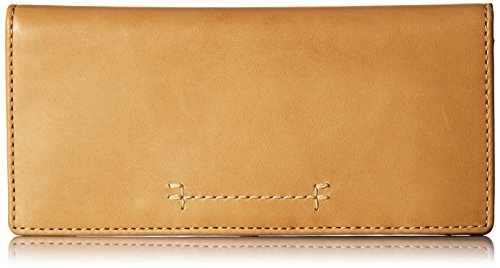 Carson Continental Slim Snap Wallet Oiled Veg Wallet, Banana, One Size by FRYE